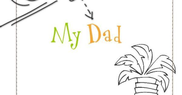 My Dad TEMPLATE: 122414 By Cassie Balser Square Flip Book