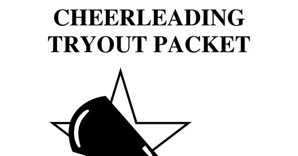 Cheer Tryout Packet 2012-2013 final by xuyuzhu