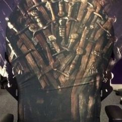 Game Of Throne Chair Leg Extenders Lowes Extremely Rare Thrones: Iron Office Cover | Throne, Covers And