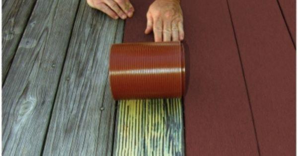 PROFEKT DECK STRIP REDWOOD  Outdoor Flooring 5240