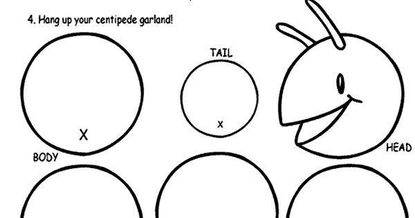Centipedes, Coloring pages and Free coloring pages on