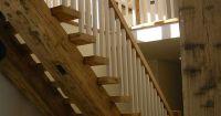 Barn beam stairs   Barn   Pinterest   Beams, Barn and ...