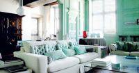 Sea Foam Green Living Room | SeaFoam Green | Pinterest ...