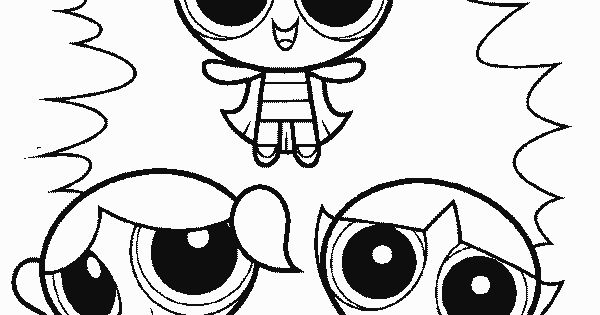 girls coloring pages 5 powerpuff girls coloring pages 6