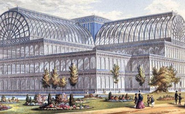 The Crystal Palace The Victorian Era Pinterest