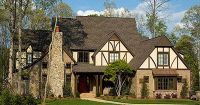 Plan W29554NT: Sloping Lot, Photo Gallery, Tudor, Corner