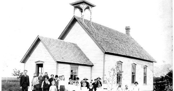 Glenwood school near Hoople, North Dakota, 1899 : Henry
