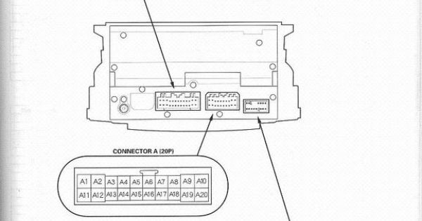 acura tl stereo wiring diagram troy bilt bronco 2005 diagrams. | double din pinterest and cars