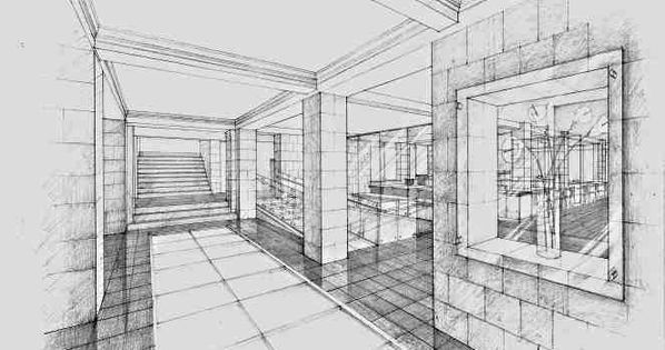 Strong line work and varying line weights Strong sense of form  Pencil  Pinterest  Sketching Perspective and Hands