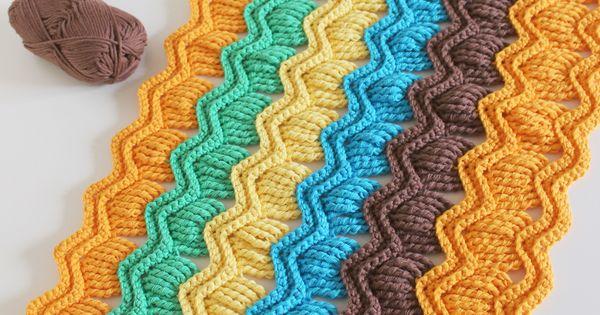 crochet fan ripple blanket  free pattern link here http