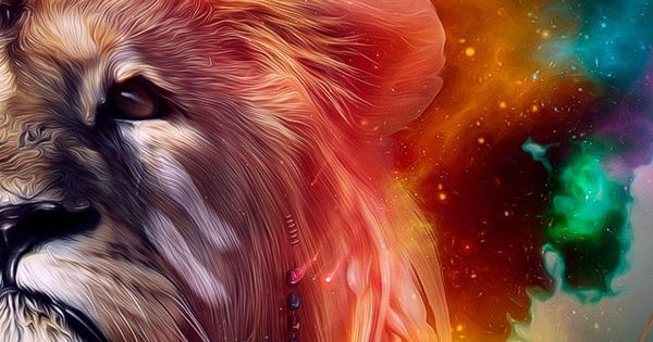 High Definition Animal Wallpapers Astrospirit Leo ♌ Fire Lion Psychedelic Leo