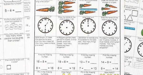 1st Grade Math Homework 1st Grade Morning Work 1st Grade