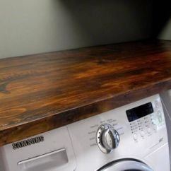 Diy Kitchen Counters French Country Table {how To} Make Your Own Laundry Wood Countertop | -kitchen ...