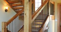 Post and Beam stairway | VPC Projects | Pinterest ...