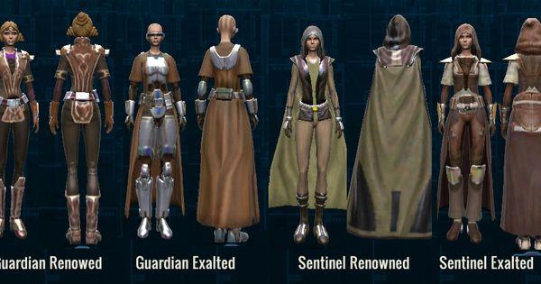SWTOR 12 New Armor Republic Knight Orange armor sets