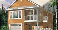 W2933 - Garage with apartment, 2 bedrooms, open floor plan ...