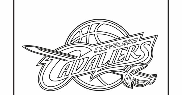 Cavs Coloring Pages Arenda Stroy