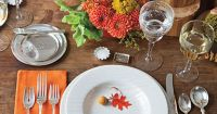 Natural Thanksgiving Table Decoration Ideas | Southern ...