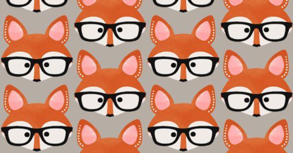 Fall Themed Wallpapers Cartoon Too Cute Fox Cream Fabric By Natitys On Spoonflower