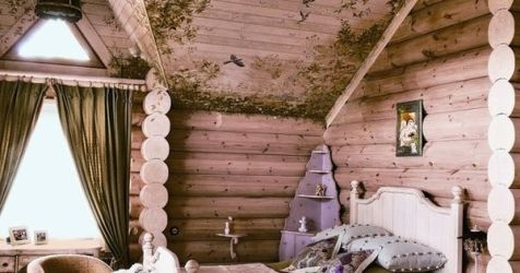 Fairy tale Bedroom painted cottage bedroom girls room idea inspiration Home Decor at Repinned net
