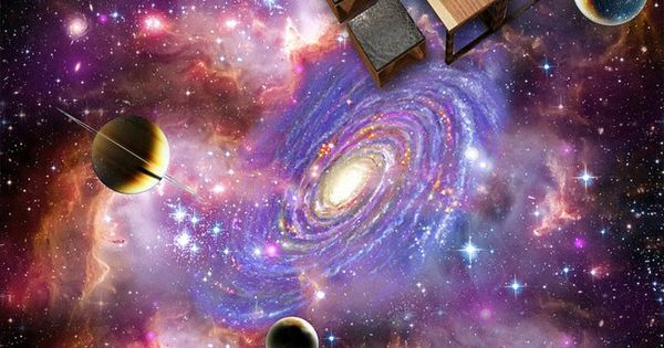 Universe Planet Nebula Galaxy 00075 Floor Decals 3D Wallpaper Wall Mural Stickers Print Art