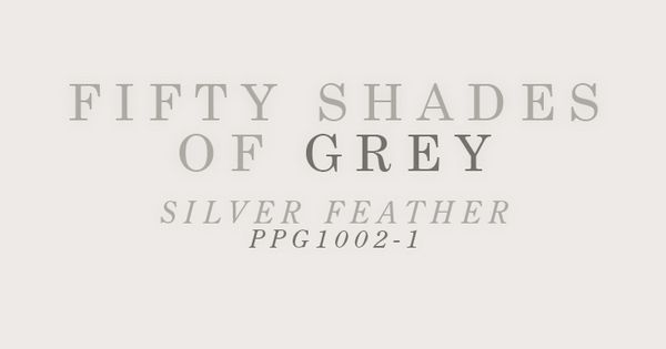 Fifty Shades of Grey Paint Colors include paint color