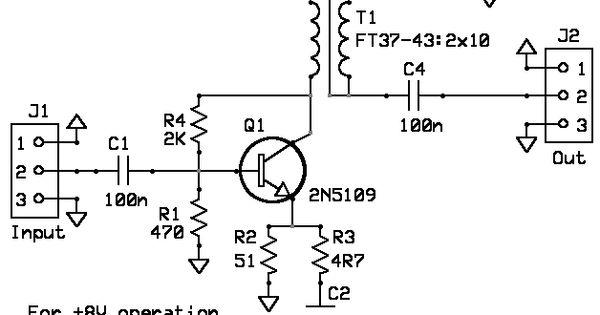 Build a Universal Wideband small signal RF Amplifier