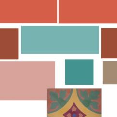 Living Room Paint Colors With Brown Couch Wall Designs Ideas Terracotta Color Palette   ... Created My Scheme