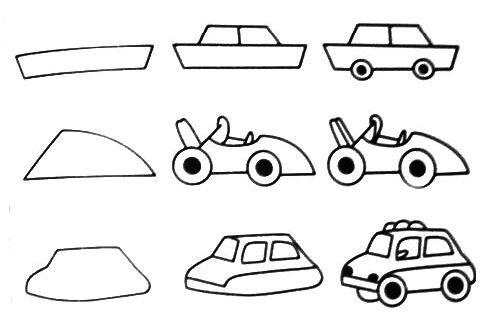 Cute step by step drawings free printable kids step by