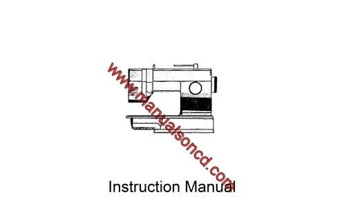 Singer 9022 Sewing Machine Instruction Manual. 44 page