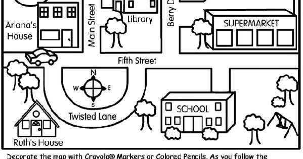 Nice neighborhood map and directions from Crayola