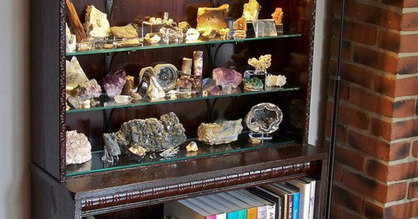 Rock and Mineral Display Cabinet  Minerals Display and Rock