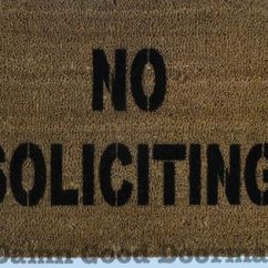 Correct Area Rug Size For Living Room Transitional Style No Soliciting- Rude Funny Doormat | Doormats ...