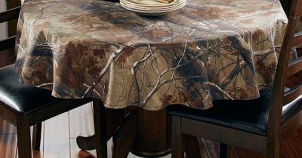 NEW Realtree AP Camo Tablecloth  56 Round
