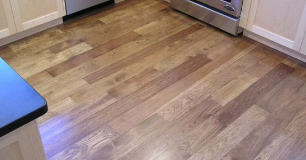 hickory cabinets kitchen antique faucets light stain | flooring pinterest ...
