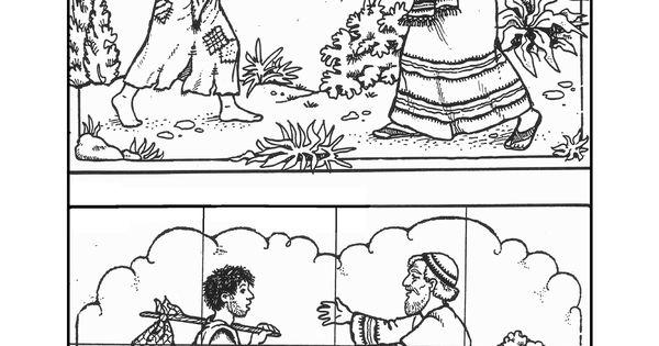 de verloren zoon, kleurplaat en puzzel, Lucas 15 11-32 www