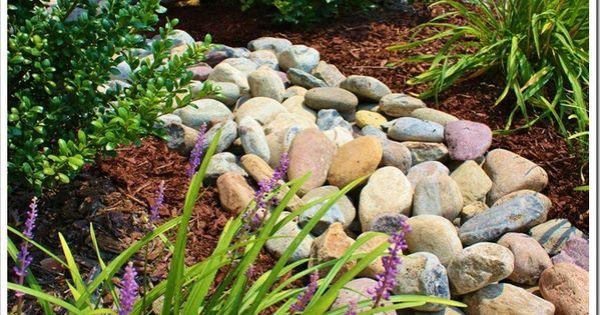 river rock landscaping colors