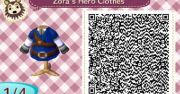 hero's clothes animal crossing