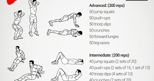 The 300 workout From +Neila Rey on Google + http://www