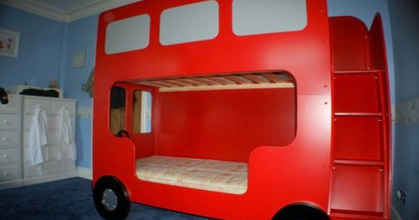 Double Decker London Bus Bunk Beds This Is Brilliant
