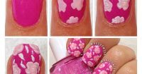 Do your own nail design flowers step-by-step | Nail Art ...