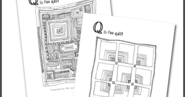 Gee's Bend Quilts Coloring Pages