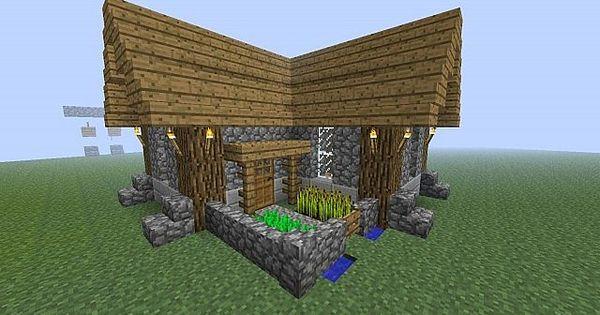 Minecraft Simple & Compact Survival House Minecraft Pinterest
