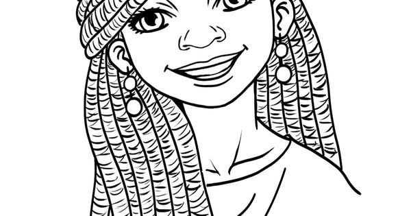 Black Kids coloring page #AfricanAmericanColoringPage
