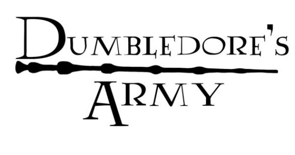 Dumbledore's Army Car Decal Harry Potter by