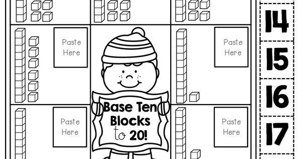Base Ten blocks (cut and paste)! TONS of fun printables