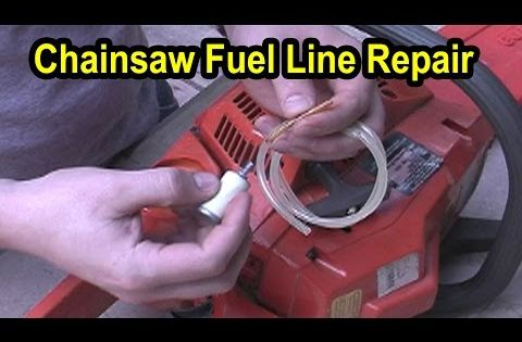 poulan chainsaw fuel line diagram microcontroller based inverter circuit repair - husqvarna model 141 youtube | diy small engine / outdoor ...