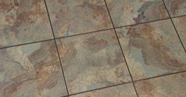 How to Install Vinyl Flooring That Looks Like Slate