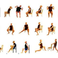Office Chair Workouts For Abs Wooden Guitar Stand Stretch Exercises Poster. Www.yesnofitness.com | Exercise Made Easy -seniors, Disorders ...