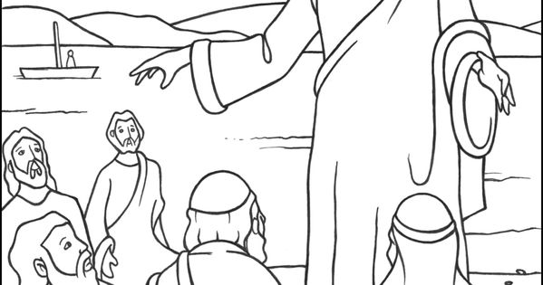 The 3rd Luminous Mystery Coloring Page